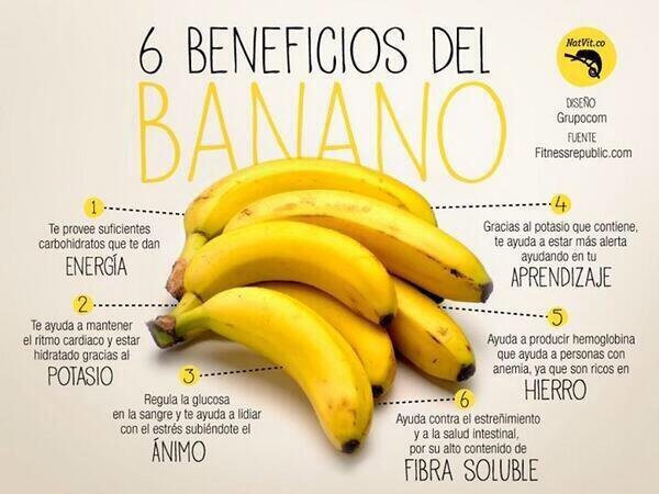 cambur guineo banano y sus beneficios para la salud