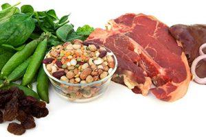 Alimentos para aumentar los niveles de hemoglobina en la sangre