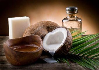 Aceite de coco para quitar el acné de la cara