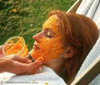 Usar cascara de naranja para quitar el acné de la cara