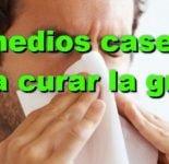 Remedios caseros para quitar la gripe