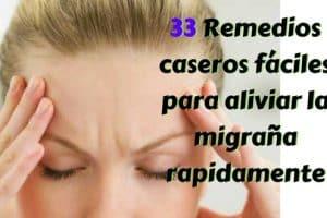 Remedios caseros fáciles para aliviar la migraña rapidamente