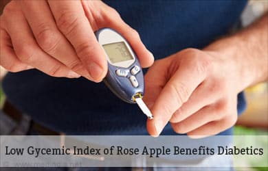 Rose Apple es Bueno para pacientes diabéticos