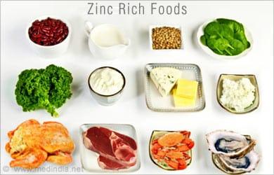 Remedios caseros para la disfunción eréctil: Alimentos ricos en zinc