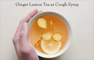 Jengibre-Limón Té para la tos