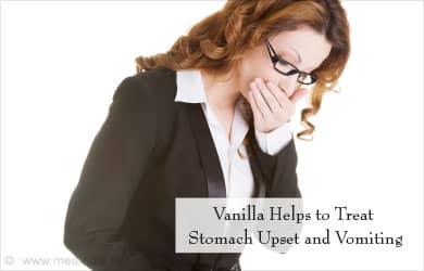 Vanilla Ayuda a la curación de estómago náuseas relacionadas