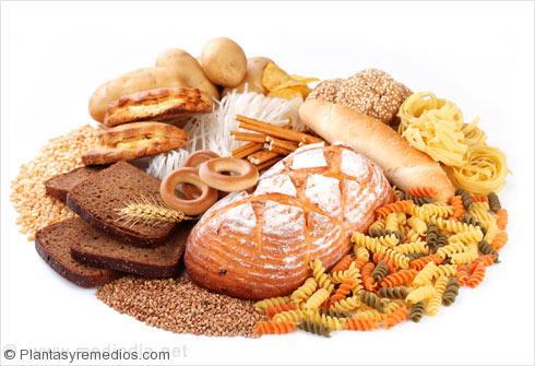 Los alimentos ricos en Carbohidratos: Granos Enteros