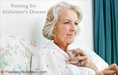 Nuez moscada para la enfermedad de Alzheimer