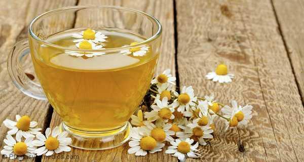 Te de manzanilla remedio para calmar el dolor menstrual