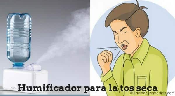 Humificador para curar la tos seca