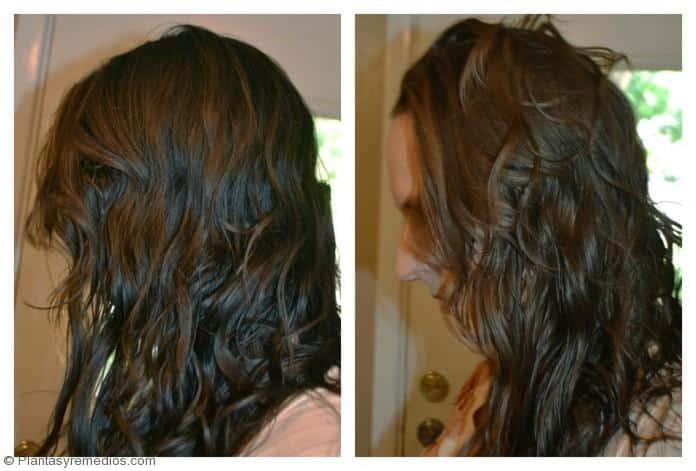Bicarbonato vinagre de manzana para el cabello