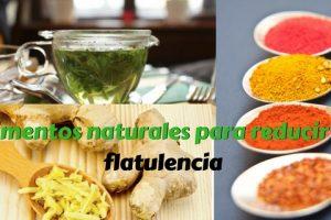 Alimentos naturales para reducir la flatulencia