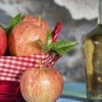 Vinagre de manzana – remedio para blanquear los dientes