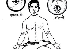 Posturas de yoga para bajar la fiebre