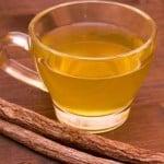Beba té de regaliz para un hígado sano!