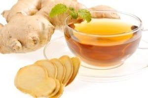 Remedio casero con té de jengibre para quitar la migraña