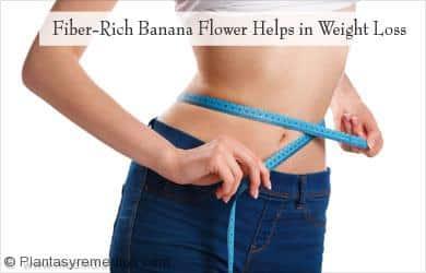 Flor del plátano ayuda en la pérdida de peso