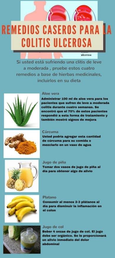 colitis ulcerosa - remedios caseros