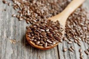 Semillas de linaza para la menopausia