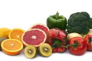 Fuentes de vitamina c en frutas y verduras