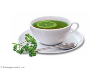 té de perejil para la anemia