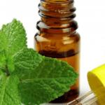 Aceite de menta para el acné