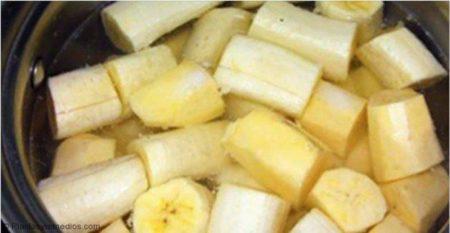 Plátano Hervido Para Dormir Y Tratar El Insomnio Plantas