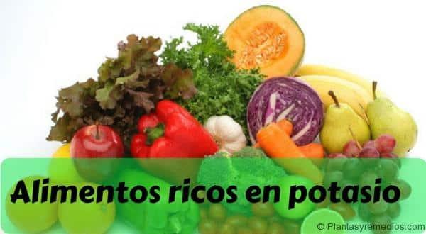 Alimentos ricos en potasio plantas medicinales remedios caseros medicina natural - Alimentos en potasio ...
