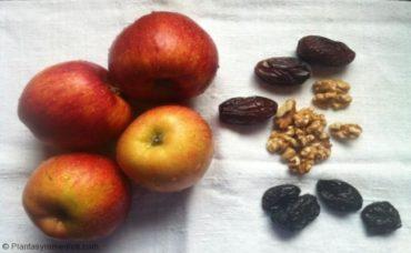 Curar la anemia con manzanas y pasas