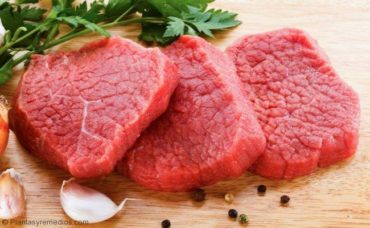 Comer carne roja para tratar la anemia