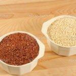 Diferencias de la quinoa blanca y roja