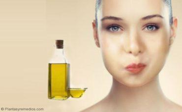 Enjuague bucal con aceite para el sarro