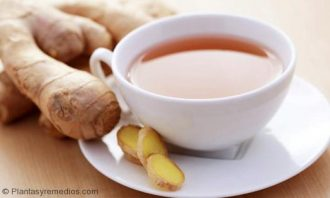 té de jengibre para la acidez estomacal