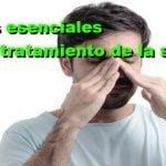 Aceites esenciales para combatir la sinusitis de forma natural
