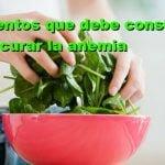 15 alimentos para curar la anemia