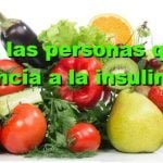 Dieta para las personas que sufren de resistencia a la insulina