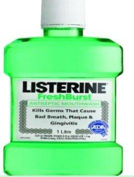 Usar listerine para el dolor en la encias
