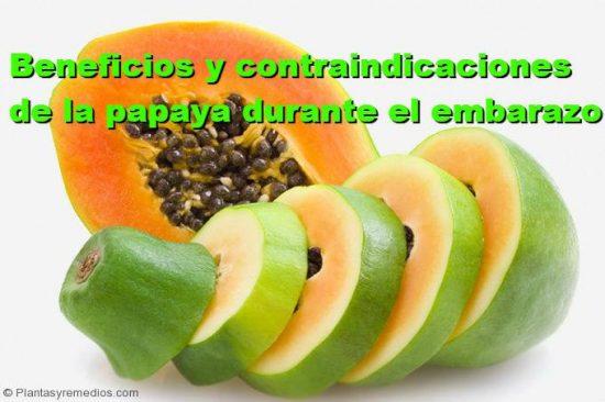 Es seguro comer papaya durante el embarazo plantas medicinales remedios caseros medicina - Alimentos buenos en el embarazo ...