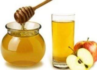 miel y vinagre de manzana es bueno para curar la anemia
