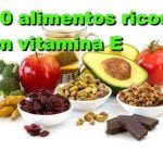 10 alimentos ricos en vitamina E