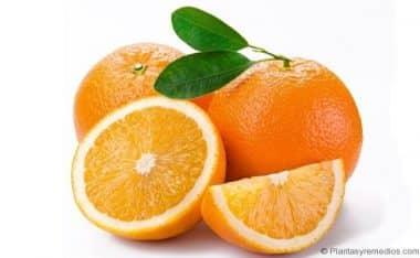 naranjas para el estres