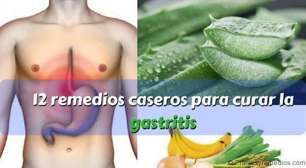 12 remedios caseros para curar la gastritis rapidamente