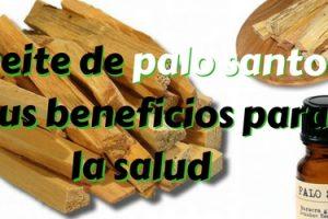 Aceite de palo santo y sus beneficios para la salud