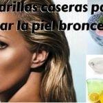 9 mascarillas caseras para eliminar el bronceado de la piel