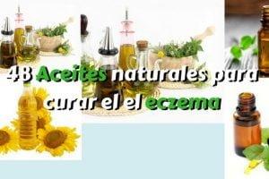 48 Aceites naturales para curar el el eczema