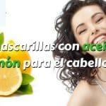 Mascarillas con aceite de limón para un cabello saludable