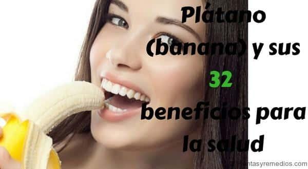 Plátano (banana) - beneficios para la salud y belleza