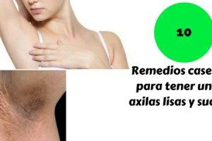 Remedios caseros para tener unas axilas lisas, suaves y sin manchas