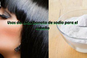 Usos del bicarbonato de sodio para el cabello