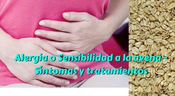 Alergia o Sensibilidad a la avena - Síntomas y tratamientos